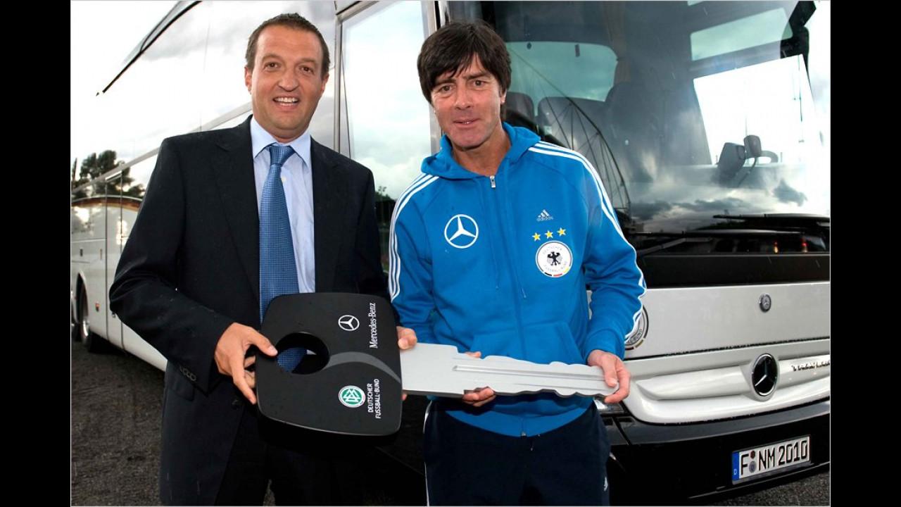 Deutsche Nationalmannschaft: Mercedes