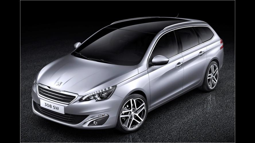 Neuer Peugeot 308 SW kommt im Frühjahr 2014