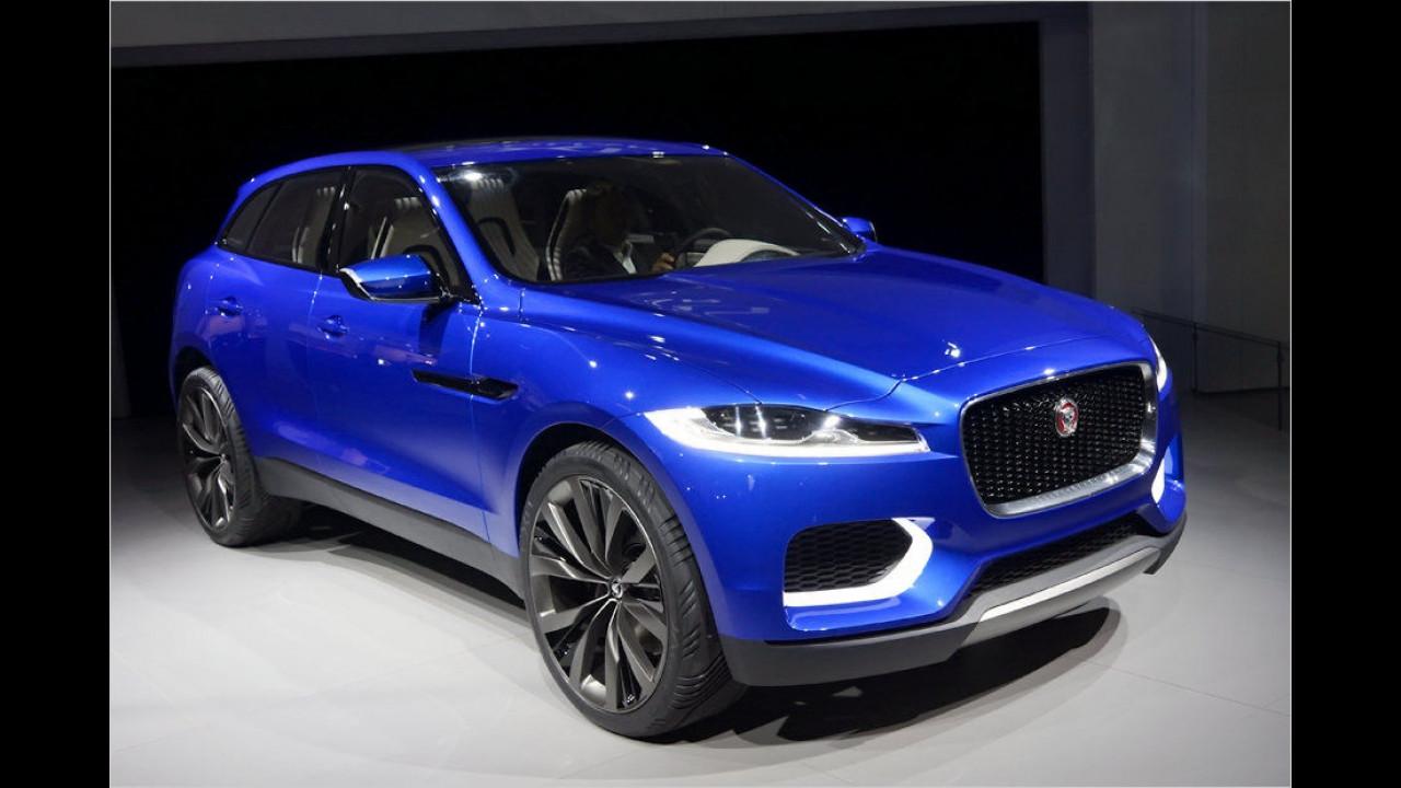 2013: Jaguar F-Pace als Studie