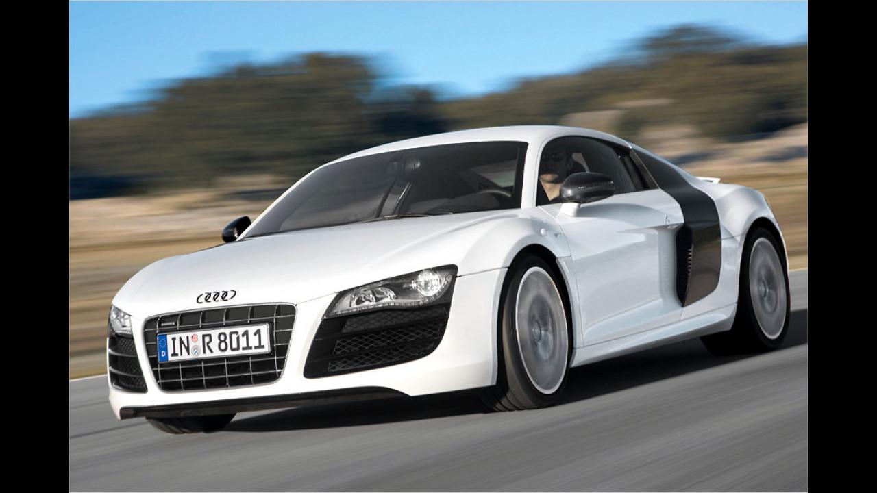Audi R8 5.2 FSI Coupé: 316 km/h