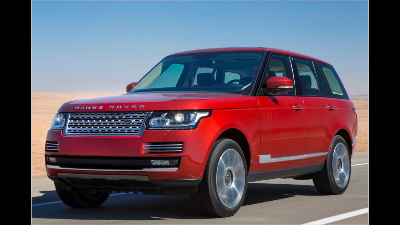 Platz eins: Range Rover 3.0 TD