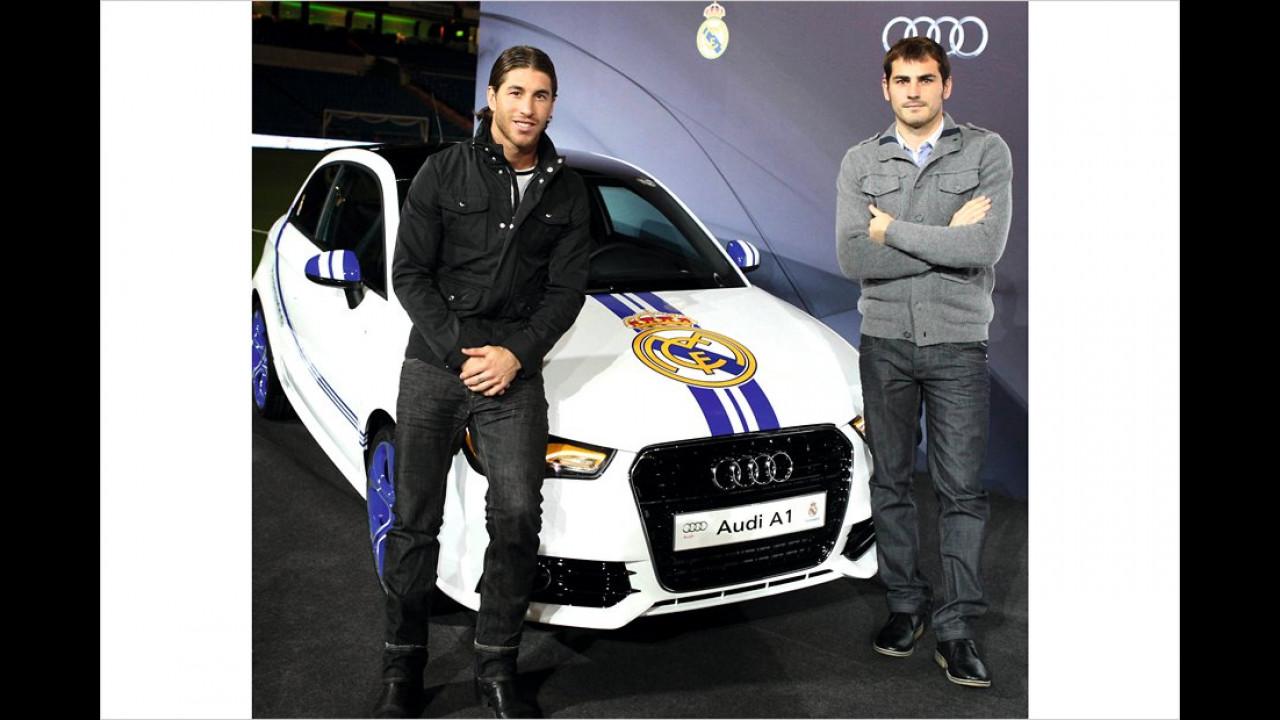 Real Madrid: Audi A1