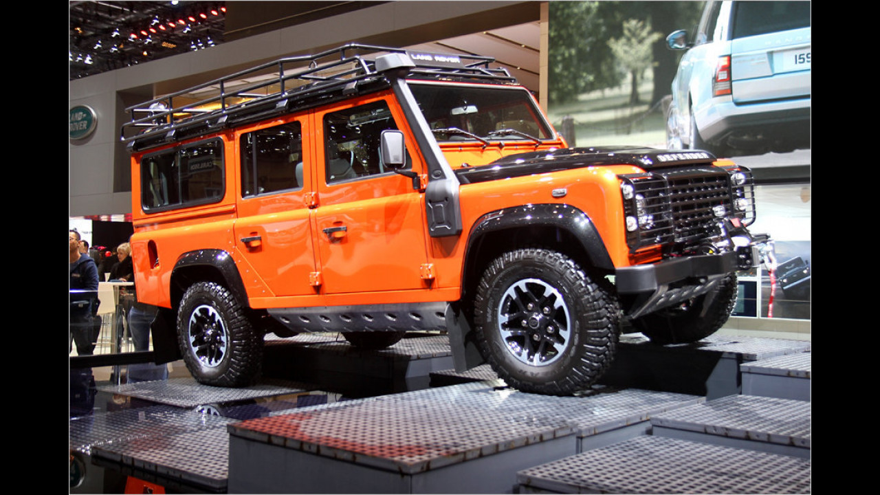 Land Rover Defender Adventure