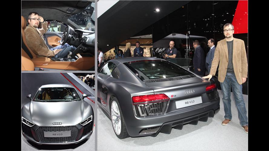 Sitzprobe Audi R8