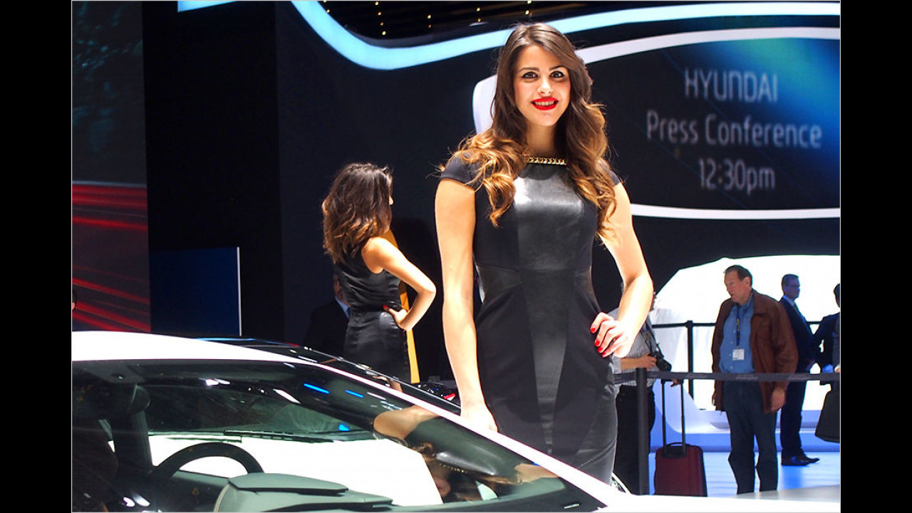 Gut zu wissen: Halb eins war die Hyundai-Pressekonferenz. Oder wo hatten Sie gerade hingeschaut?