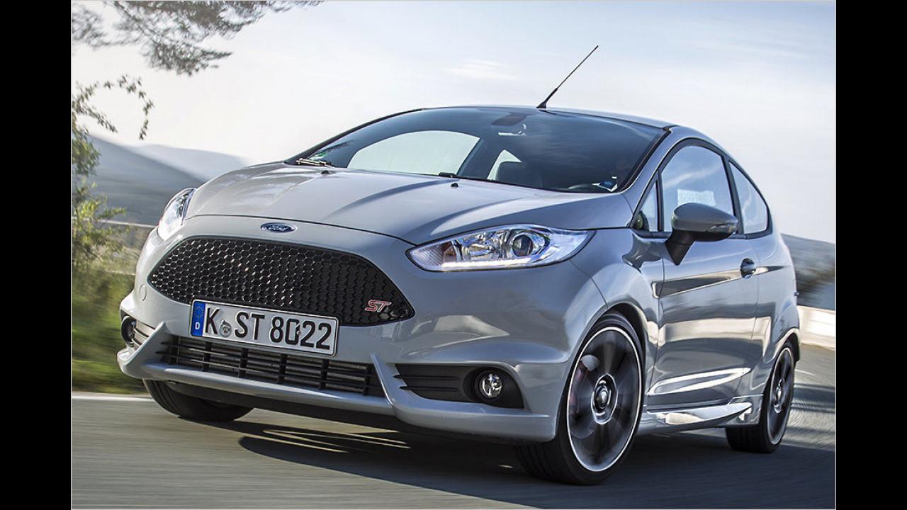 9. Platz: Ford Fiesta ST200