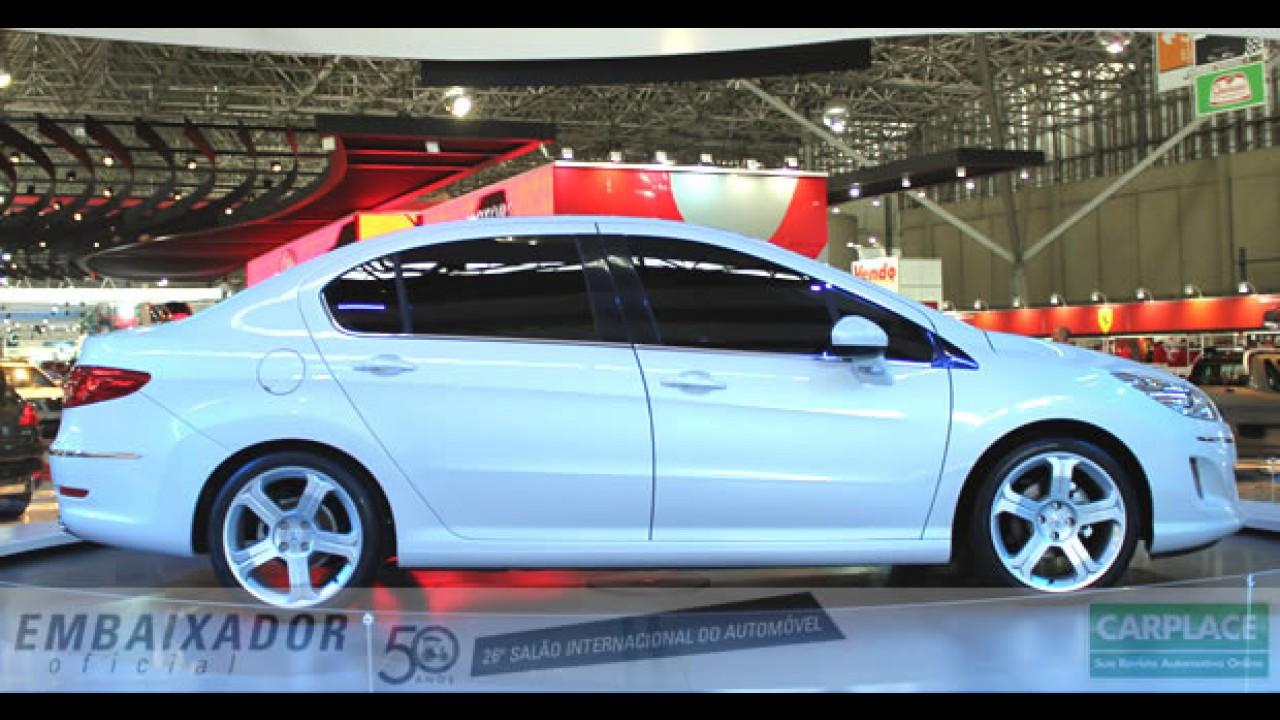 Salão do Automóvel: Peugeot apresenta oficialmente o novo sedan 408