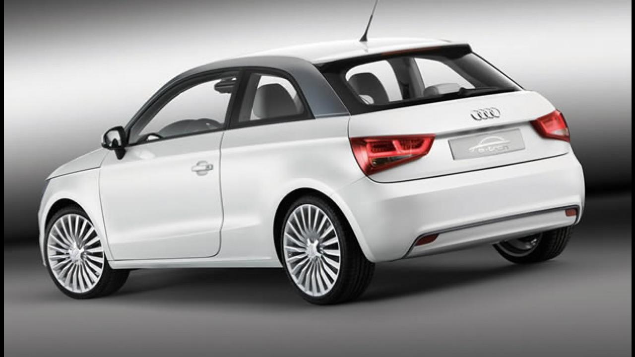 Audi A1 não receberá versão elétrica