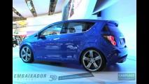 Chevrolet deve lançar o novo Aveo/Sonic no Brasil em setembro