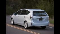 Toyota Prius V será o primeiro modelo a contar com o sistema multímidia Entune