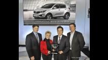 Kia Sportage é eleito International Truck of the Year 2011 nos Estados Unidos