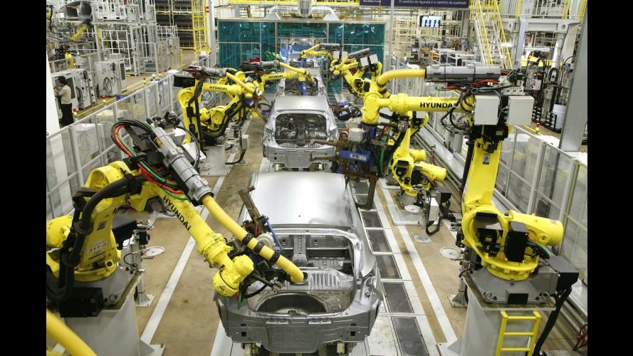 """Hyundai inaugura """"oficialmente"""" a fábrica de Piracicaba (SP)"""