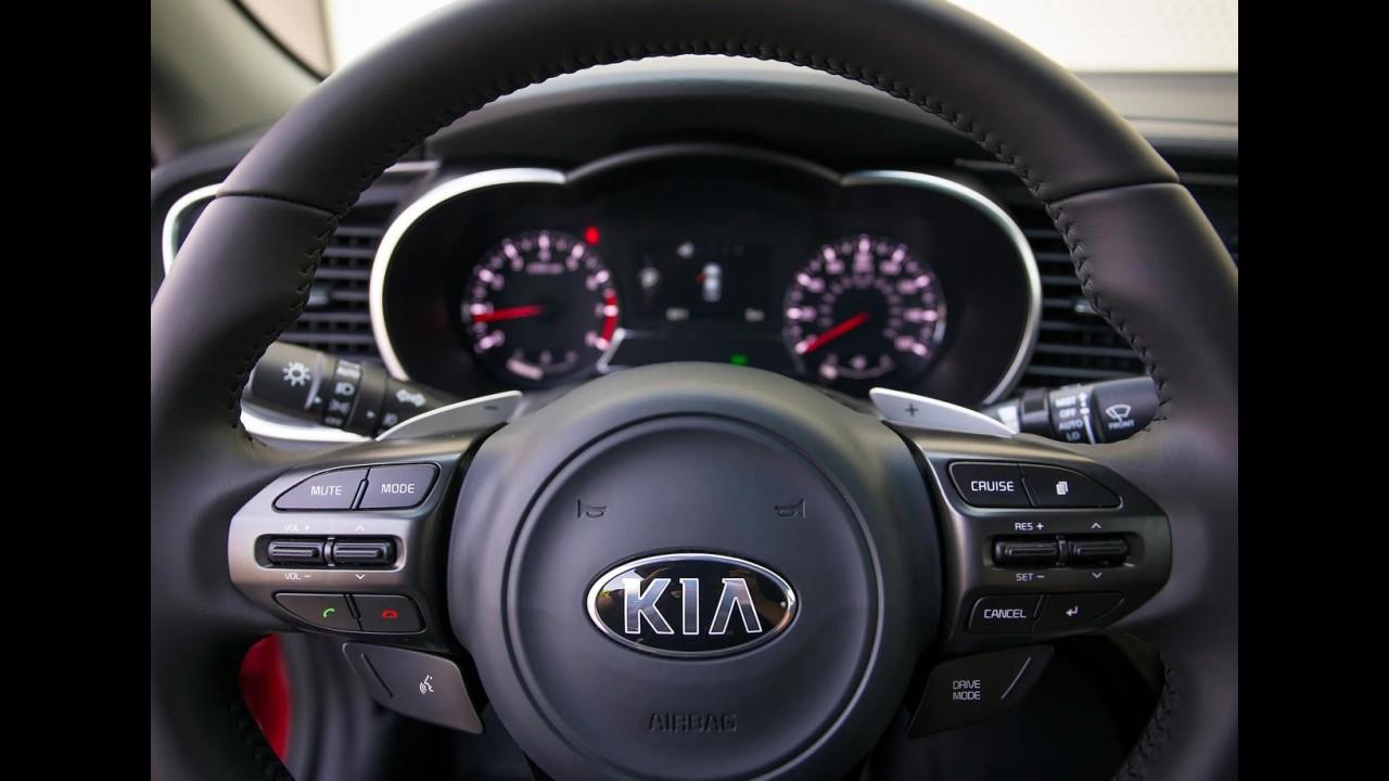 Kia Optima 2014 ganha leve retoque no visual; veja fotos