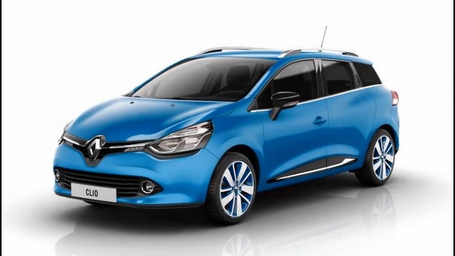 Novo Renault Clio Estate - Veja a galeria de fotos