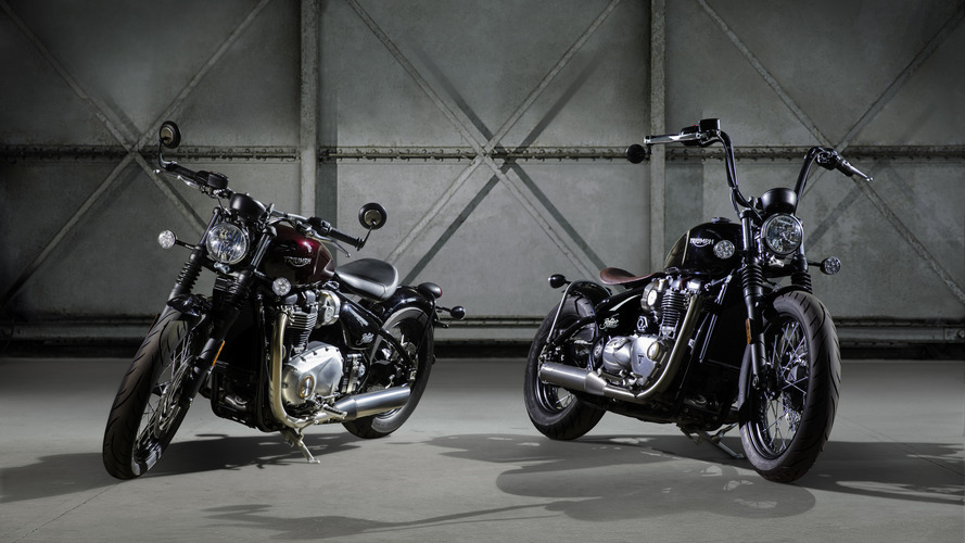 Triumph Bobber revealed