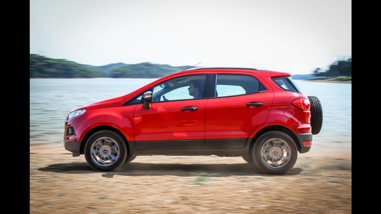 SUV's / Crossovers: Ecosport mantém vantagem, Santa Fe se destaca em maio