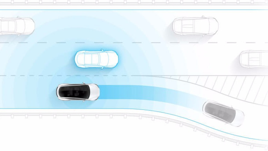 Tesla with Full Self Driving Hardware