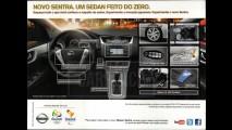 Novo Sentra 2014: veja os itens de série da versão top de linha SL