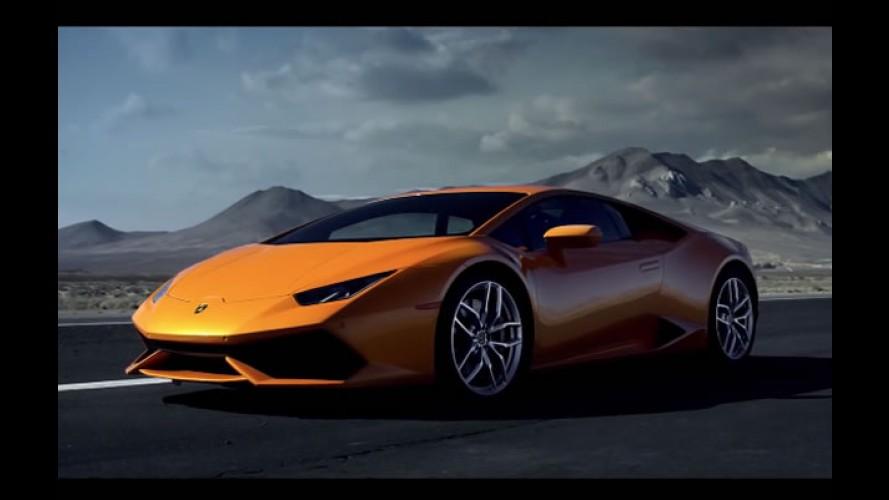 Vídeo: Lamborghini Huracán LP 610-4 encara tempestade