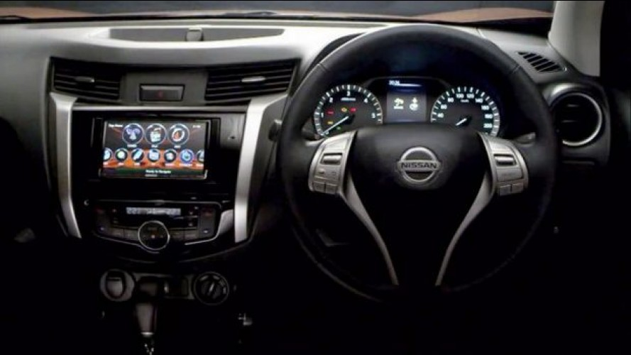 Vazou: Nissan Frontier 2015 tem fotos internas divulgadas