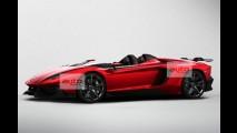 Vazou: Aventador J é o segredo da Lamborghini para o Salão de Genebra