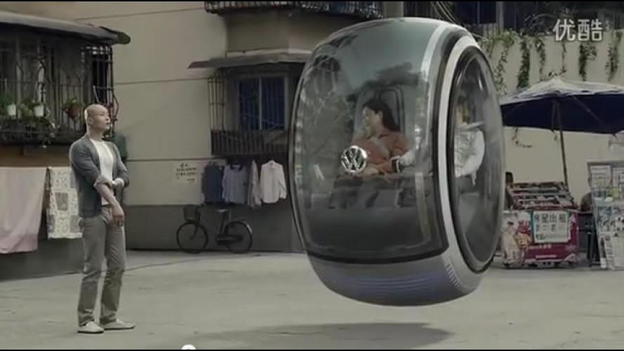 "VÍDEO: Volkswagen mostra ""carro flutuante"" do futuro através de realidade virtual"