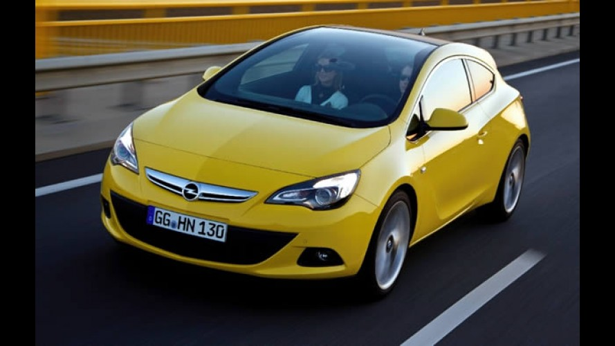 Opel Astra GTC: Agora com vista panorâmica