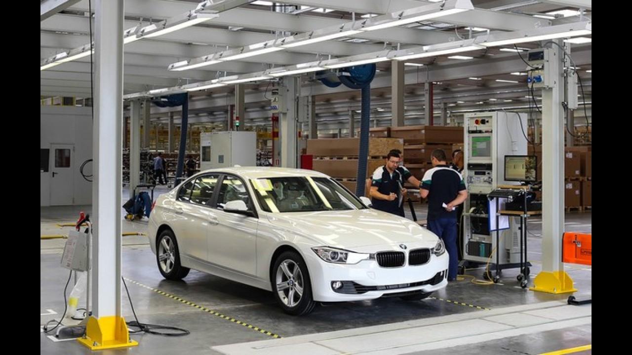 BMW realiza recall de seis modelos no Brasil por problema nos freios