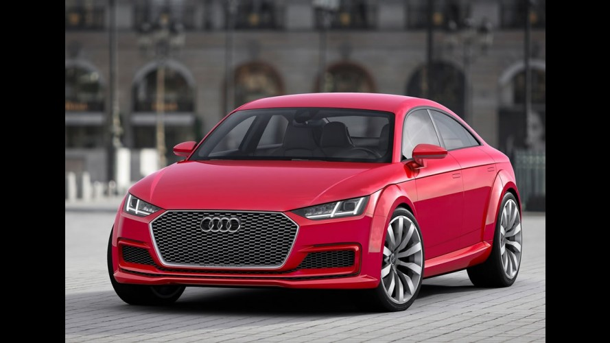 """Audi TT Sportback entra na onda """"4 portas"""" com motor 2.0 TFSI de 400 cv"""