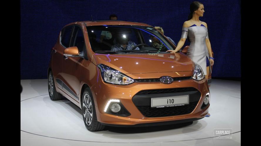 """Salão de Frankfurt: Hyundai mostra nova geração do i10, """"primo"""" do Kia Picanto"""