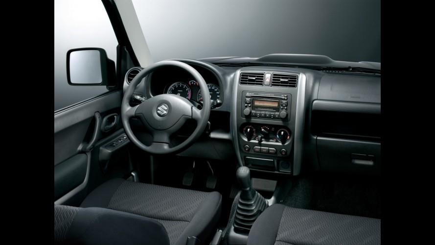 Suzuki inicia comercialização do renovado jipinho Jimny no mercado europeu
