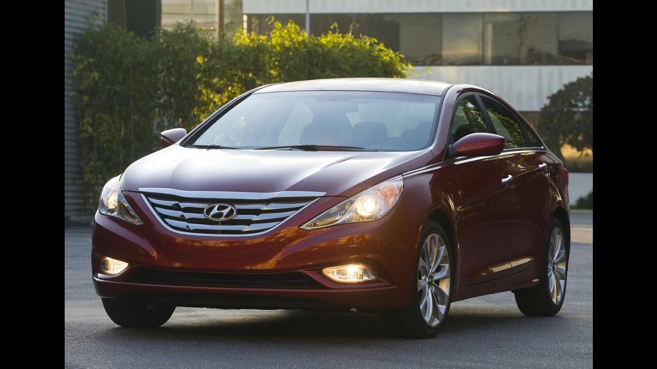 Hyundai anuncia recall de 220.000 veículos nos Estados Unidos