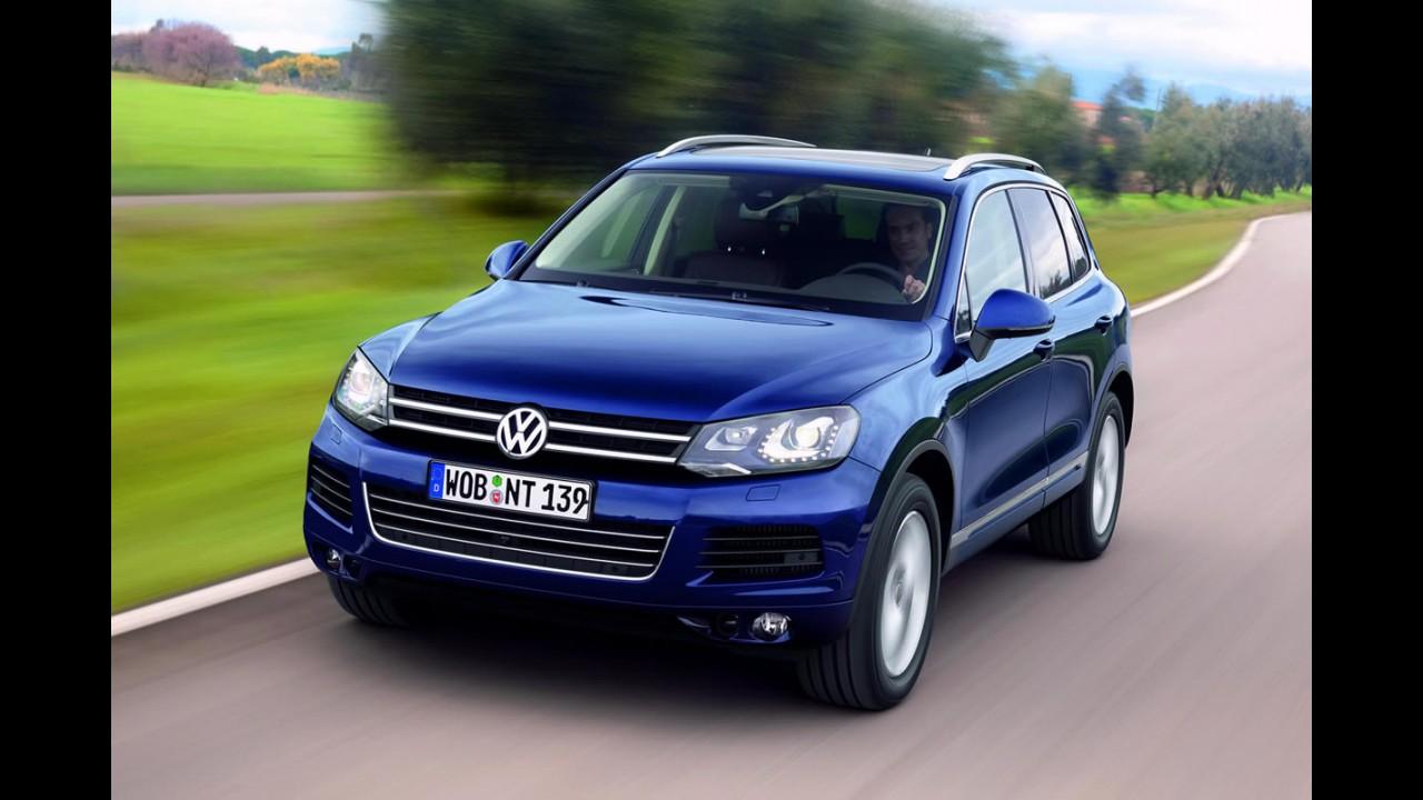 Volkswagen pode estar pensando em uma versão cupê do Touareg