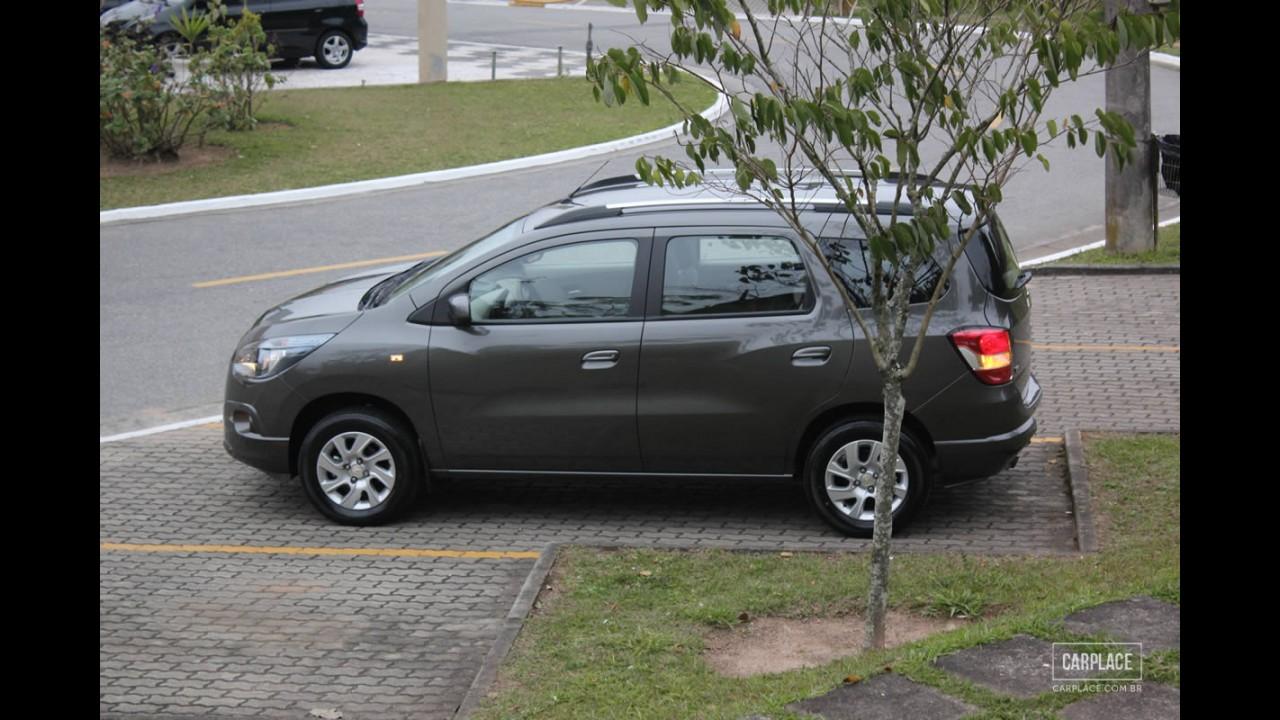 Avaliação: Chevrolet Spin LTZ entrega bom padrão de dirigibilidade