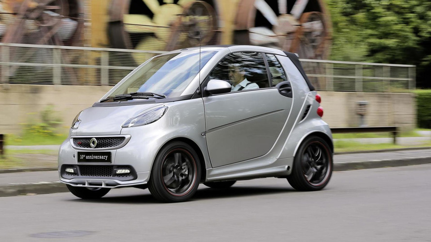 Smart ForTwo Brabus 10th anniversary edition announced