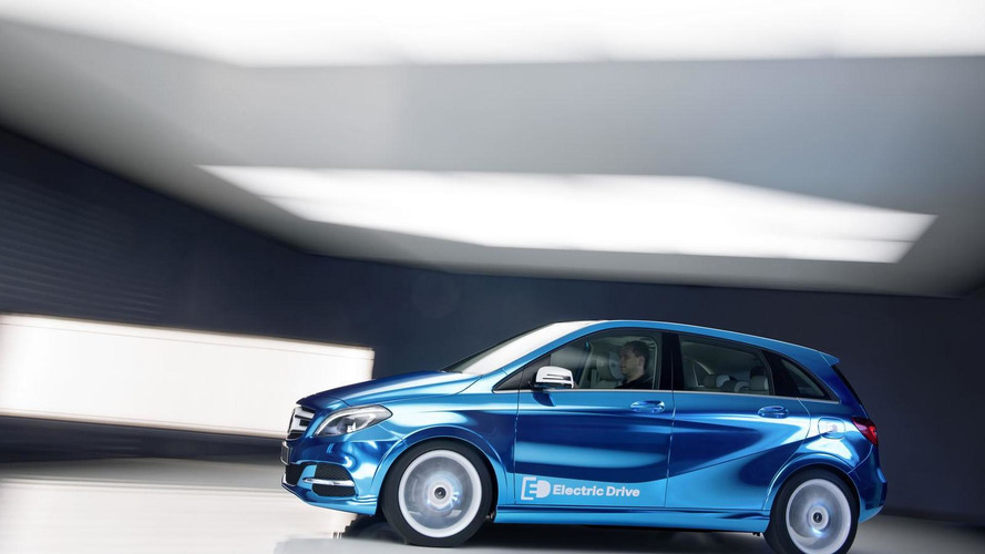 Mercedes-Benz says B-Class Electric Drive will be better than BMW i3; S-Class Coupe due 2014