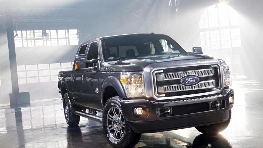 2013 Ford F-Series Super Duty Platinum revealed [video]