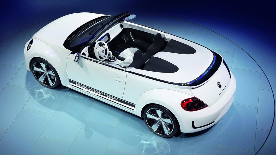 Volkswagen E-Bugster Steedster concept car officially unveiled