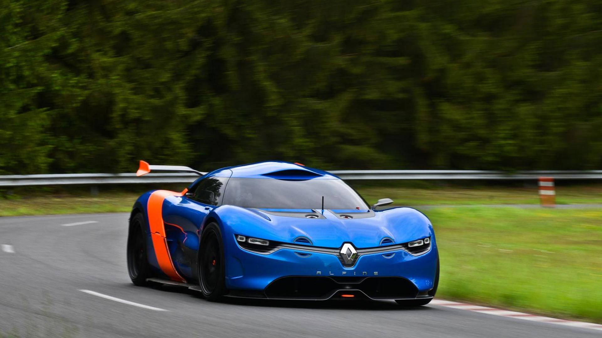 Alpine renault 2016