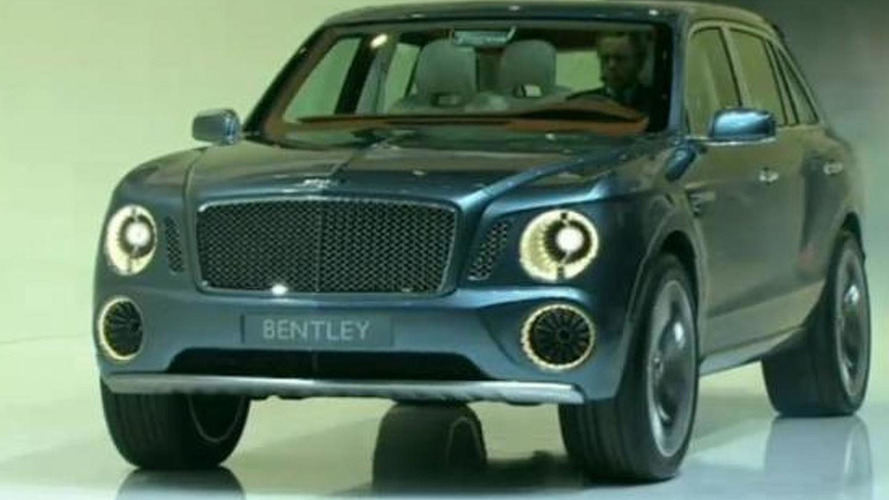 Bentley SUV edging approval