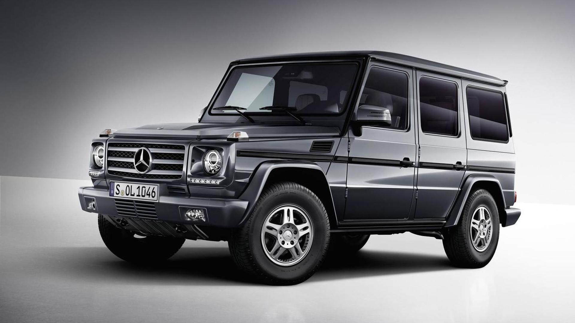 Ongekend Mercedes-Benz G500 reportedly getting twin-turbo V8 4.0 engine UE-44