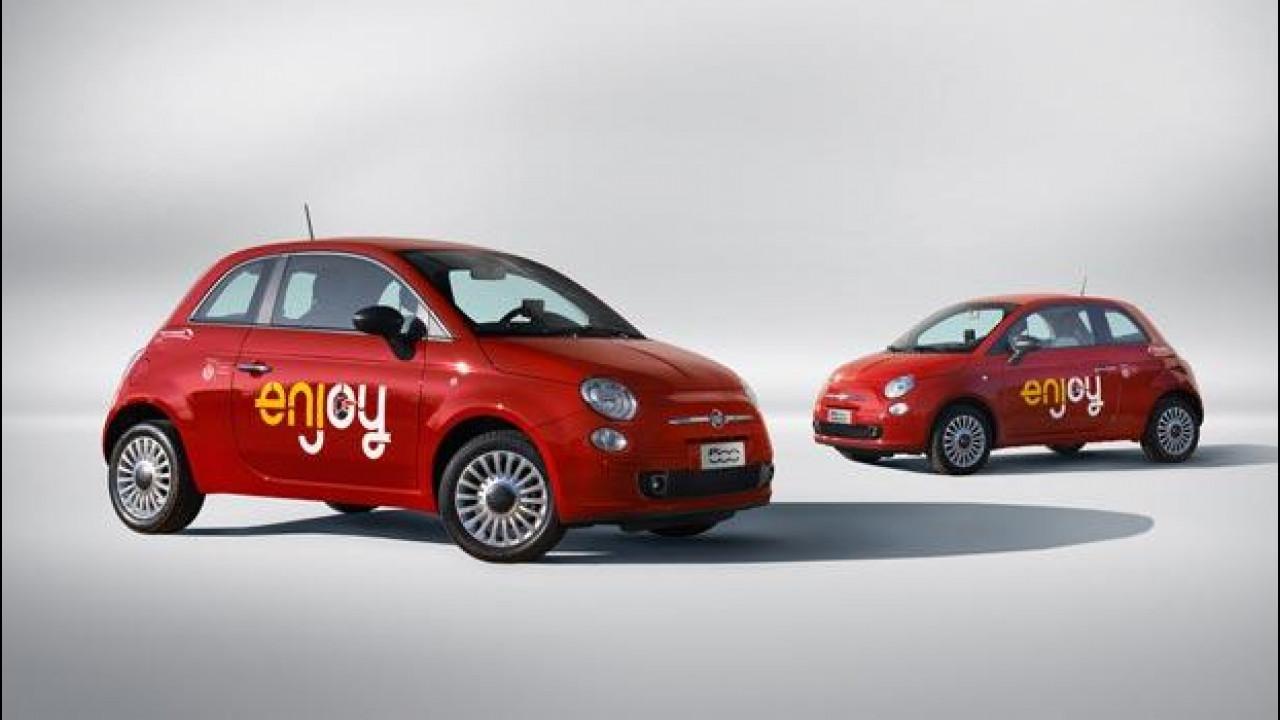 [Copertina] - Enjoy car sharing: 35.000 noleggi a Milano in un mese
