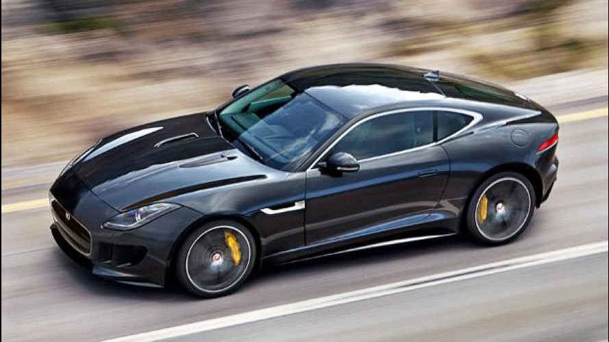 Jaguar F-Type Coupé contro tutte
