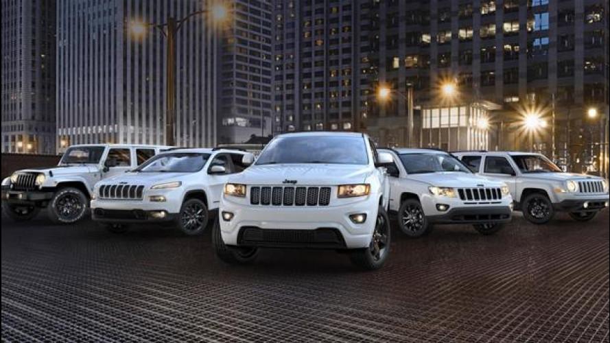 Jeep, le nuove versioni Altitude