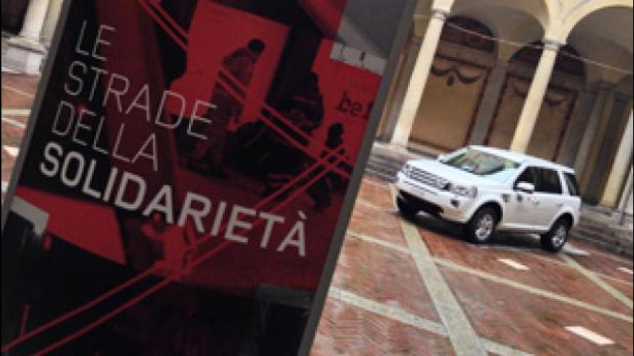 Land Rover e Croce Rossa italiana insieme per i senza tetto