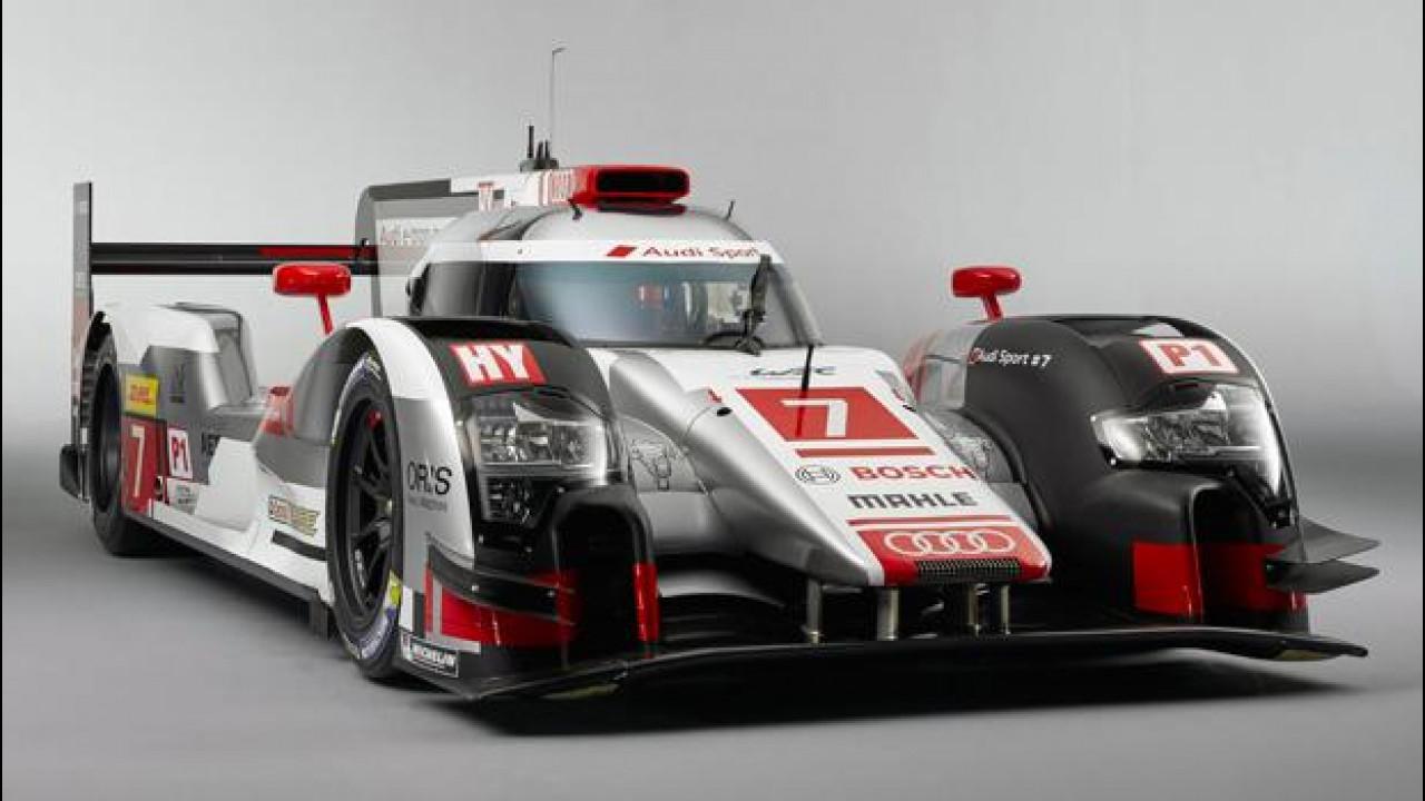 [Copertina] - Audi R18 e-tron quattro, l'arma ibrida per Le Mans