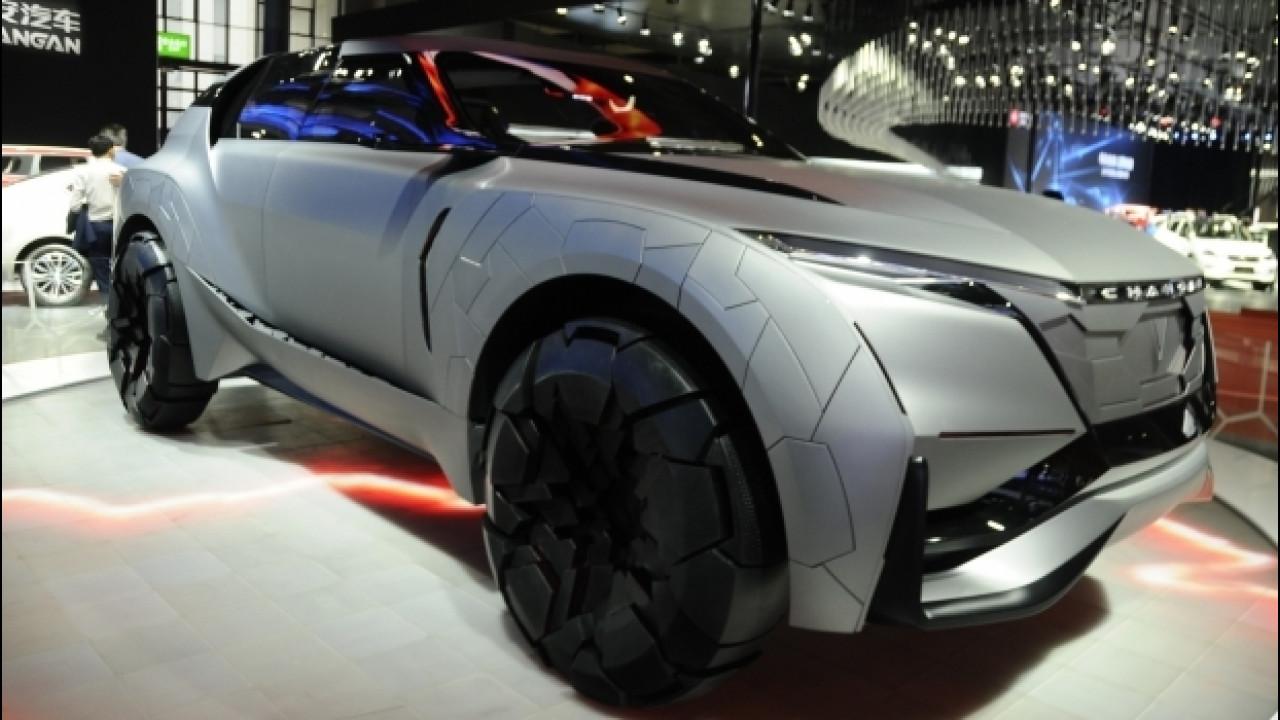 [Copertina] - Cina, le auto più curiose del Salone di Shanghai