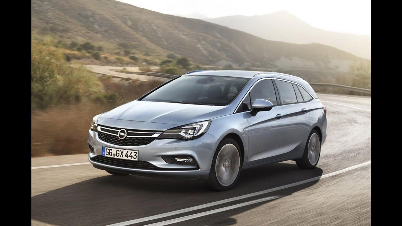 Nuova Opel Astra Sports Tourer 2015