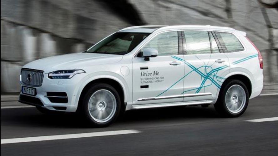Volvo, prove generali di guida autonoma a Londra