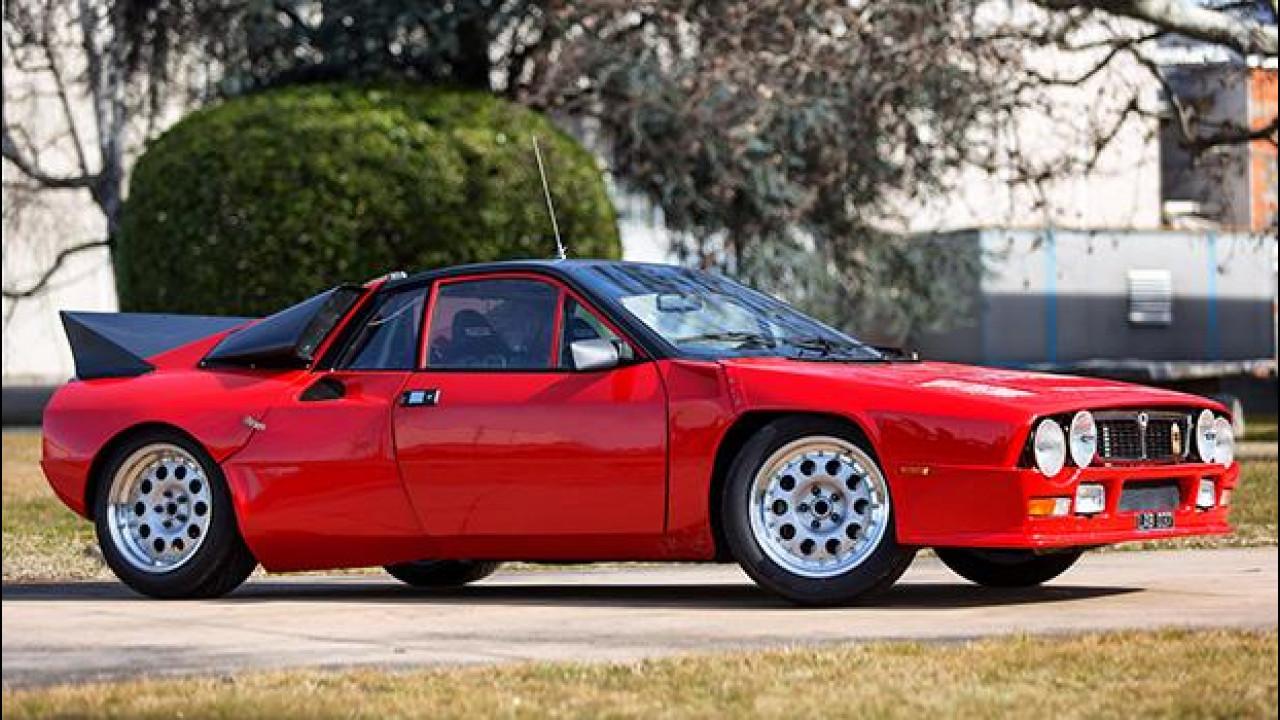 [Copertina] - Lancia Rally 037, all'asta il prezioso prototipo